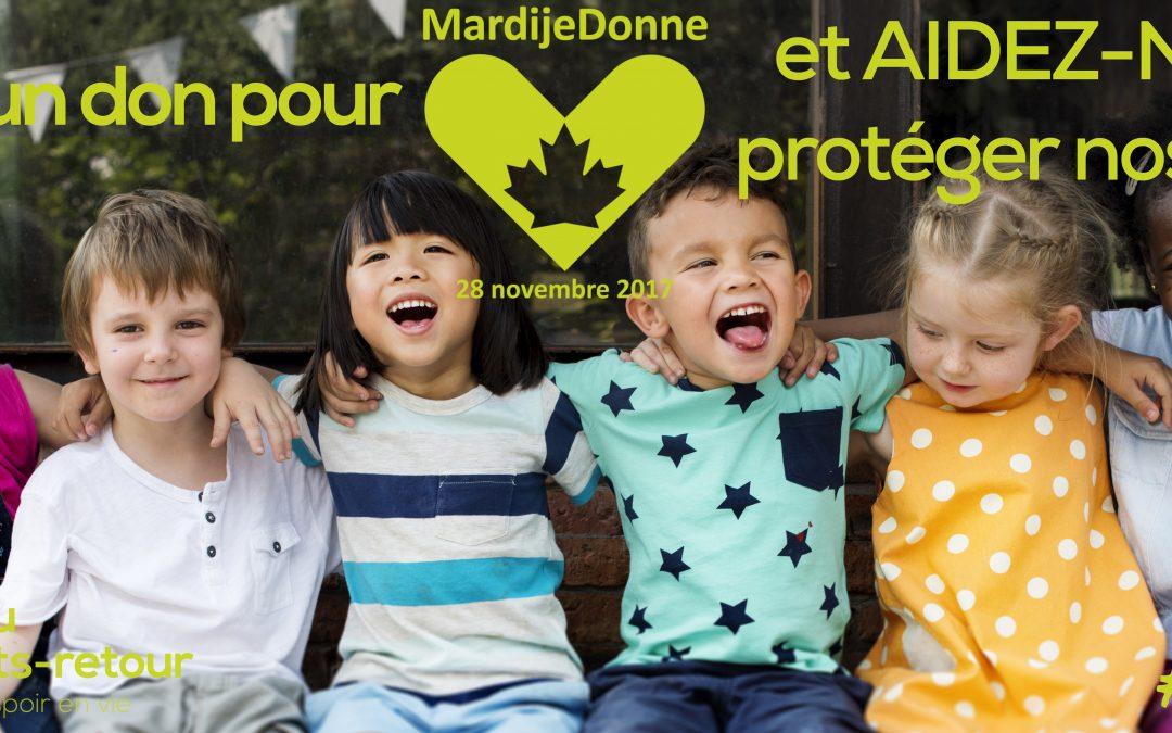 Aidez-nous à protéger nos jeunes!