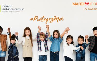 Ce 27 novembre, aidez-nous à mieux protéger les enfants d'âge scolaire du Québec!