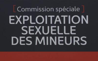 Commission spéciale sur l'exploitation sexuelle des mineurs
